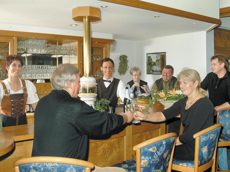 Hotel Flurschütz - an der Bar