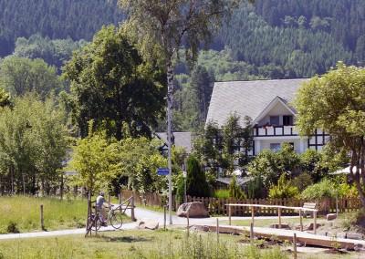 Hotel Flurschütz in Saalhausen - Ruhe und Erholung