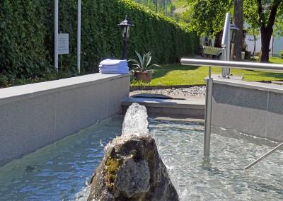 Hotel Flurschütz - Kneipp Wassertretbecken