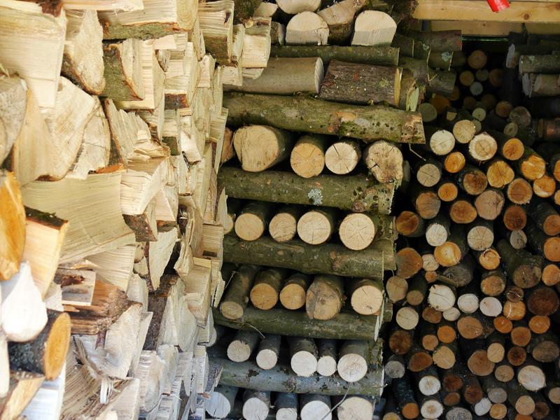 CO2-neutrales Holzheizungssystem