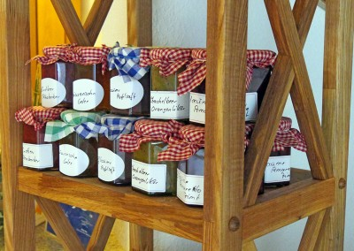 Hotel Flurschütz - selbst gemachte Marmeladen
