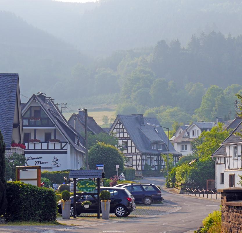 Idylle in Saalhausen