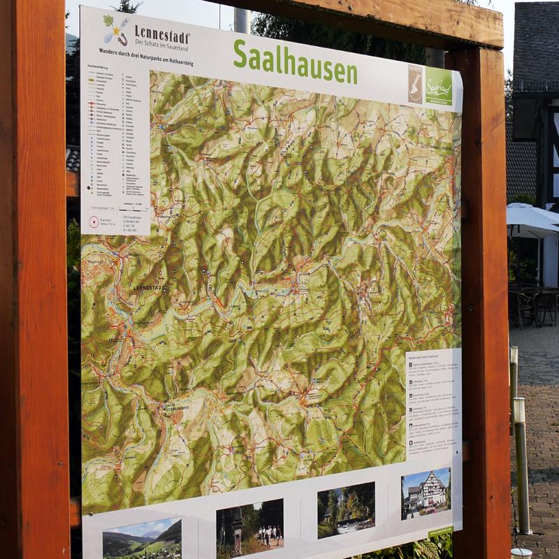 Wanderparadies Saalhauser Berge