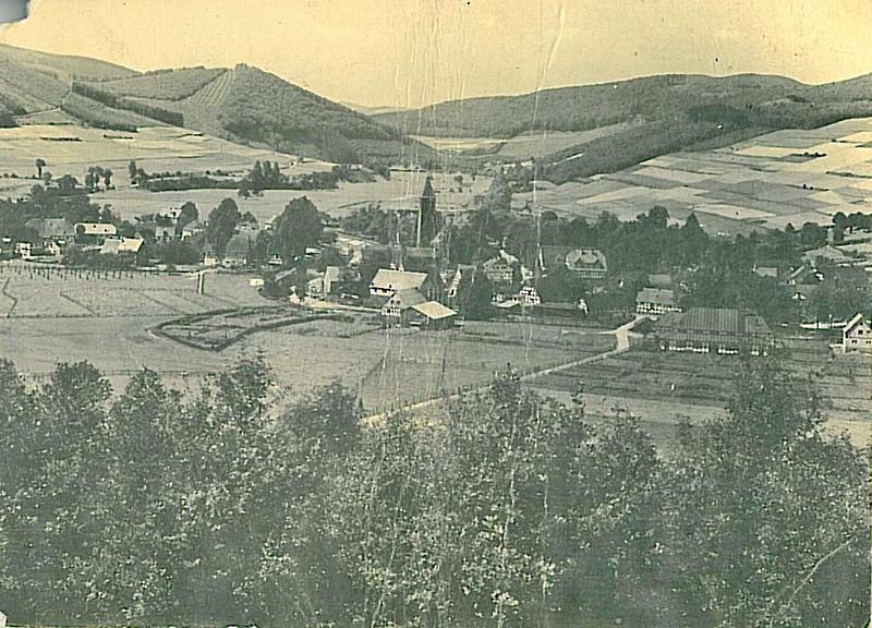 Historischer Ortskern Saalhausens