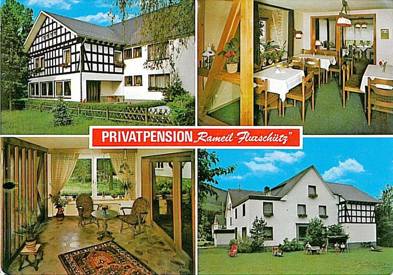 Pension Rameil-Flurschütz um 1980