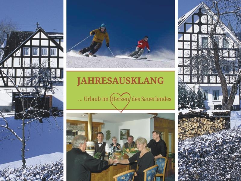 Jahresausklang im winterlichen Saalhausen