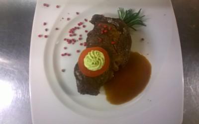 """Aus unserer Karte """"Steak Spezial"""""""