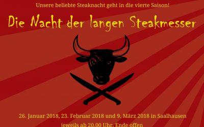 Die Nacht der langen Steakmesser