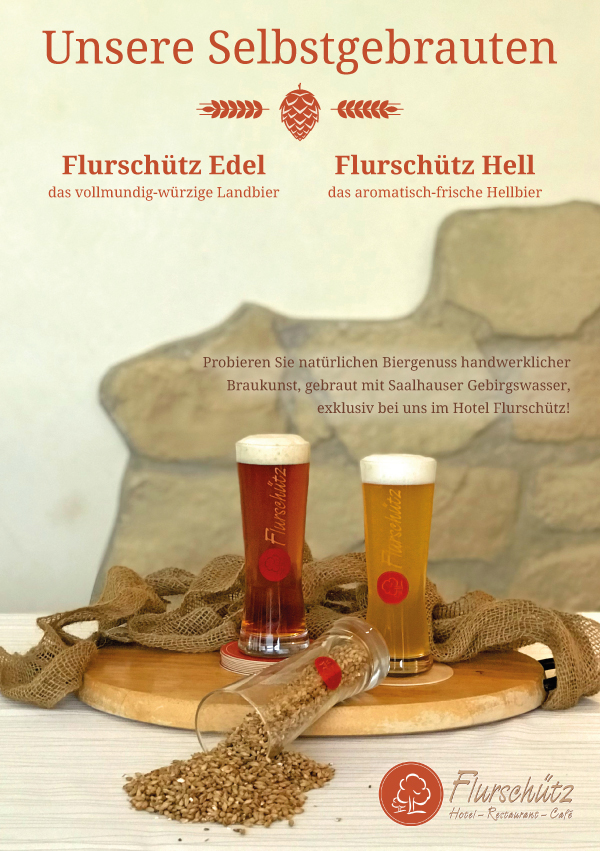 Flurschütz Edel - Unser selbstegbrautes Bier